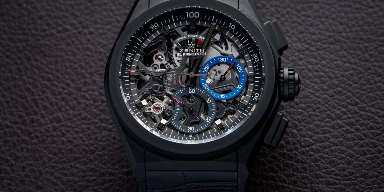 Cheapest The 1/100th of a Second Mechanical Chronograph: Zenith's Defy El Primero 21 Replica At Lowest Price