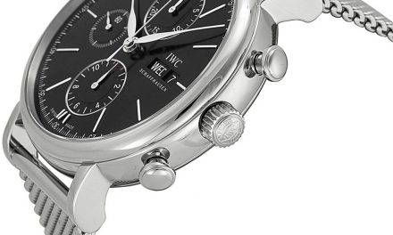 IWC Portfonio Chronograph Automatic Black Dial Steel Men's Watch Item No. IW391010  Replica Trusted Dealers