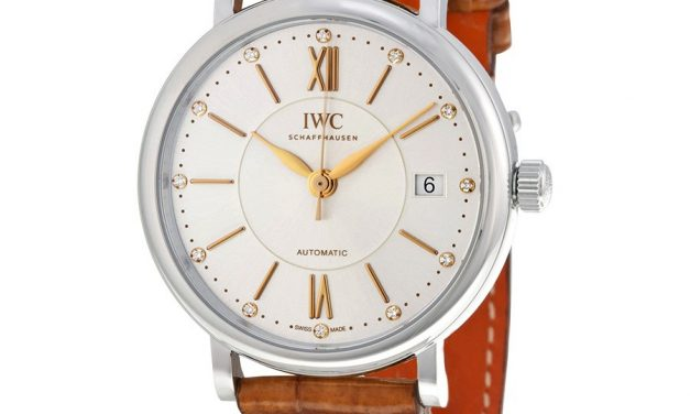 IWC Portofino Automatic Silver Diamond Dial Unisex Watch Item No. IW458101  Replica For Sale