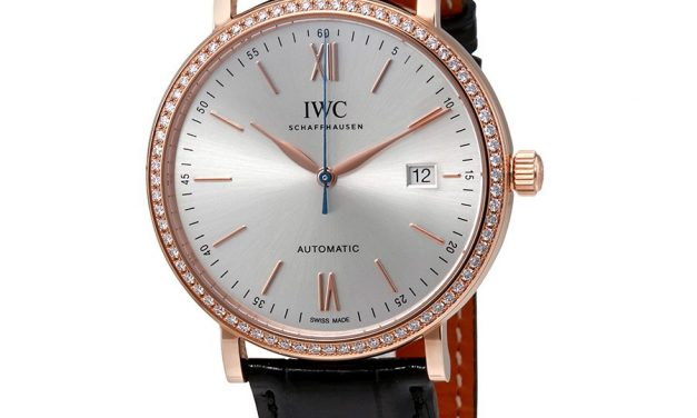IWC Portofino Automatic Silver Dial Diamond Men's Watch 3565-15 Item No. IW356515  Replica Watches Free Shipping